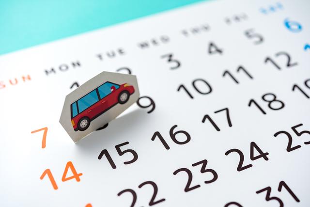 車の輸送日数